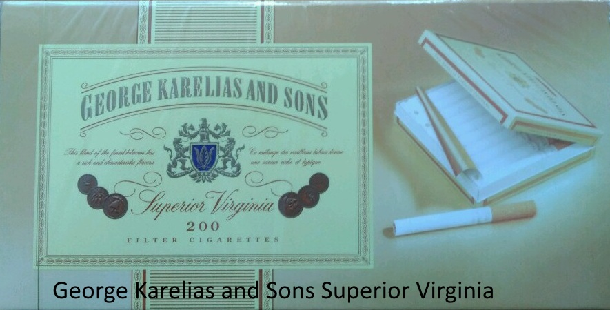 Сигареты George Karelias and Sons Superior Virginia